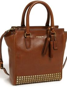 Coach legacy Mini stud tanner leather purse